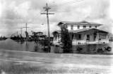 1922 - a Hialeah residential area during a flood