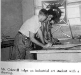 1960 - Karen's dad, James Criswell, in North Miami Senior High Conestoga yearbook