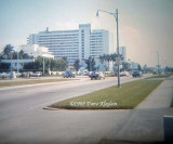 1968 - the Americana Hotel on Miami Beach