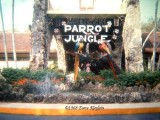 1968 - the entrance to the Parrot Jungle in South Dade