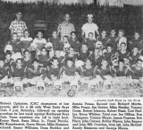 1960 - Hialeah Optimists football team