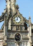 MARKET CROSS CLOCK