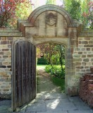 THROUGH THE DOOR TO THE GARDEN