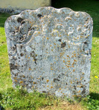 OLD SMALL HEADSTONE