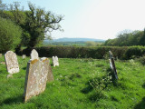 VIEW ACROSS THE CHURCHYARD