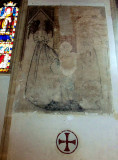 14TH CENTURY WALL PAINTING