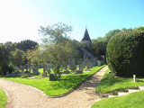 THE CHURCHYARD AT ST MARY'S