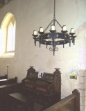 ORGAN AND CHANDELIER