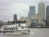 PASSING CANARY WHARF