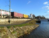 GOODS TRAIN PASSING