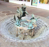 ANOTHER STREET FOUNTAIN