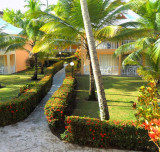 HOTEL GROUNDS  -  DOMINICAN REPUBLIC