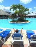 POOLSIDE  -  DOMINICAN REPUBLIC