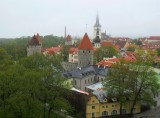 LOWER OLD TOWN VIEW FROM RAMPARTS . 1