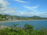 SNOWDONIA VIEW FROM CRICCIETH