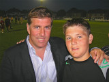 Kieran & Mark McGhee at Worthing FC