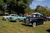 From right: 1941 Chevrolet, 1970s Ford and 1947 Dodge