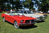 1964½  Ford Mustang convertible, owned by John J. McGrellis III; 1970s Cadillac; and 1970s Chevrolet El Camino