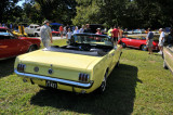 1965 Ford Mustang convertible, owned by Mel Chase, Newark, DE