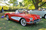 1960 Chevrolet Corvette convertible, give or take a year