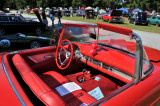 1957 Ford Thunderbird convertible, owned by Mark S. Abrahams, Centerville, DE