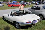 1964 Jaguar XK-E roadster, owned by John Glenn IV, Newark, DE