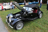 1954 MG TF roadster composite, owned and restored by Robert W. Hill, Wilmington, DE