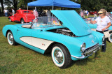 1957 Chevrolet Corvette, owned by Mary Lou Gilbert, Elkton, MD