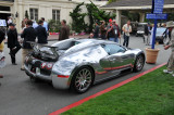 Bugatti Veyron in front of Pebble Beach Lodge, August 2008 (2951)
