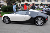 Bugatti Veyron in front of Pebble Beach Lodge, August 2008 (2953)