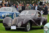 1938 Talbot T150-SS Figoni et Falaschi Coupe, Peter & Merle Mullin of L.A., at 2008 Pebble Beach Concours d'Elegance (2985)