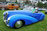 1948 Delahaye 135MS Faget-Varnet Cabriolet, Cathy & Jerry Gauche of Texas, at 2008 Pebble Beach Concours d'Elegance (3022)