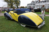 1938 Talbot Lago T150-C Cabriolet by Figoni & Falaschi, J.W. Marriott, Jr.,  2008 St. Michaels Concours d'Elegance, Md. (4329)