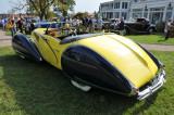 1938 Talbot Lago T150-C Cabriolet by Figoni & Falaschi, J.W. Marriott, Jr.,  2008 St. Michaels Concours d'Elegance, Md. (4373)