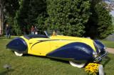 1938 Talbot Lago T150-C Cabriolet by Figoni & Falaschi, J.W. Marriott, Jr.,  2008 St. Michaels Concours d'Elegance, Md. (4378)