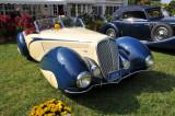 1937 Delahaye Model 135 by Figone & Falaschi, Malcolm Pray, Jr., 2008 St. Michaels Concours d'Elegance in Maryland (4380)