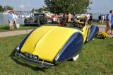 1938 Talbot Lago T150-C Cabriolet by Figoni & Falaschi, J.W. Marriott, Jr.,  2008 St. Michaels Concours d'Elegance, Md. (4384)