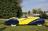 1938 Talbot Lago T150-C Cabriolet by Figoni & Falaschi, J.W. Marriott, Jr.,  2008 St. Michaels Concours d'Elegance, Md. (4388)