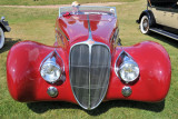 1939 Delahaye Type 165 Cabriolet by Figoni & Falaschi, Best of Show awardee at 2009 Meadow Brook Concours d'Elegance (7809)