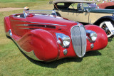 1939 Delahaye Type 165 Cabriolet, owned by Peter Mullin and the Peter Mullin Automotive Museum Foundation, Los Angeles (7816)