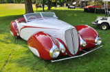 1937 Delahaye 135M, owned by Mark Hyman, at 2009 Meadow Brook Concours d'Elegance, Rochester, Michigan (8025)