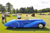 1948 Delahaye 135MS Cabriolet by Faget-Varnet, owned by Cathy and Jerry Gauche, at 2009 Meadow Brook Concours d'Elegance (8027)