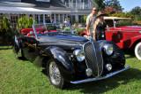 1938 Delahaye 135M Roadster by Figoni & Falaschi, J.W. Marriott, Jr., 2009 St. Michaels Concours d'Elegance in Maryland (8635)