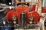 1948 Delahaye 135M Drophead Coupe by Figoni & Falaschi, owned by John W. Rich, at AACA Auto Museum, Hershey, Pennsylvania (9583)