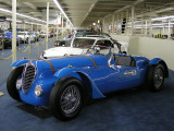 1946 Delahaye 135MS Selborne Roadster, at Auto Collections showroom in Las Vegas (5047)