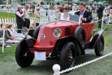1924 Renault Labourdette Skiff, owned by Dick DeLuna, Woodside, Calif., at 2010 Pebble Beach Concours d'Elegance. (3991)