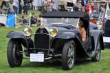 1932 Bugatti Type 55 Open Sports Tourer, Ton & Maya Meijer, Hague, Netherlands, at 2010 Pebble Beach Concours d'Elegance. (4051)