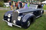 1939 Delage D8 120 Henri Chapron Cabriolet, Daniel Sielecki, Best of Show finalist, 2010 Pebble Beach Concours. (4367)