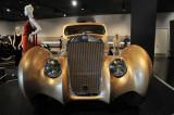 1937 Delage D-8 Coupe Aerosport by Latourneur et Marchand at Petersen Automotive Museum, Los Angeles (5007)