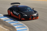 A 2011 Bugatti Veyron 16.4 Super Sport, with 1200 hp, set the production-car land speed record of 268 mph, in 2010. (3106)
